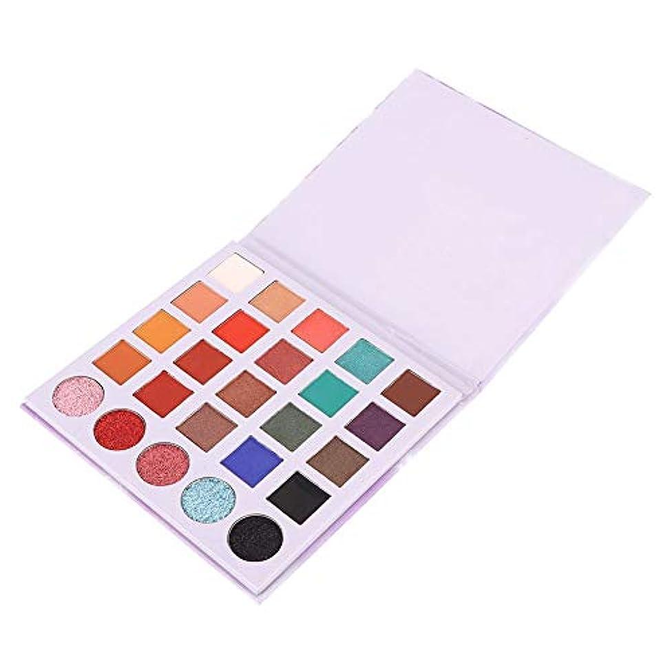 刺繍運命テレビ局アイシャドウパレット 25色 アイシャドウパレット 化粧 マットグロスアイシャドウパウダー 化粧品ツール
