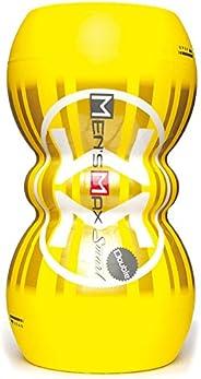 メンズマックス スマートダブル 【貫通・非貫通が選べる 刺激変わる 洗える オナカップ】