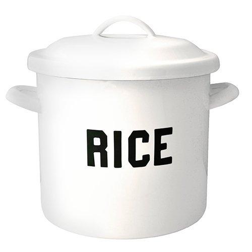 THE OLDE FARMHOUSE 米びつ カップ付き ライス缶 5kg 9リットル