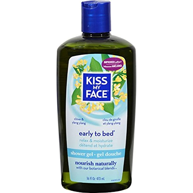 投資せっかちチャペルBath and Shower Gel Early to Bed Clove and Ylang Ylang - 16 fl oz by Kiss My Face