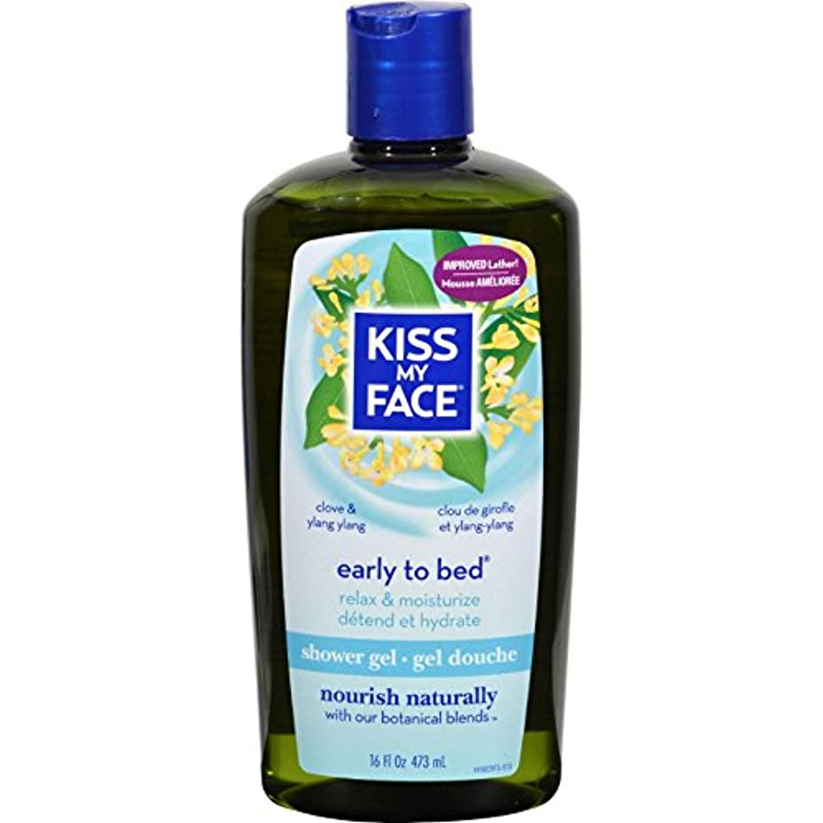 豚肉じゃがいも平日Bath and Shower Gel Early to Bed Clove and Ylang Ylang - 16 fl oz by Kiss My Face