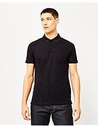 Sunspelメンズ半袖Riviera Poloシャツ US サイズ: L カラー: ブラック