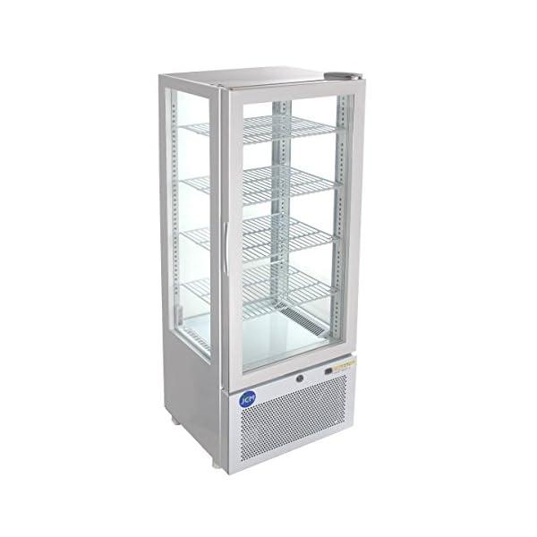 4面ガラス冷蔵ショーケース【JCMS-98】 J...の商品画像