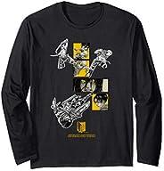 【完結記念】立体機動「リヴァイ・ミカサ・アルミン・エレン」進撃の巨人 長袖Tシャツ