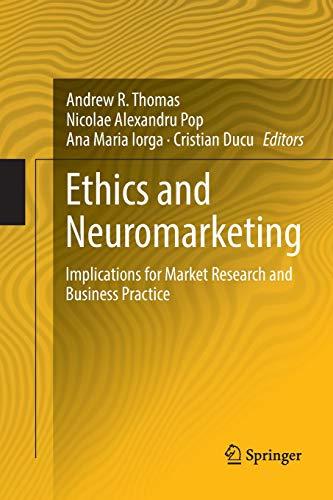 [画像:Ethics and Neuromarketing: Implications for Market Research and Business Practice]