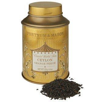 フォートナム&メイソン紅茶 セイロン オレンジ ペコ 茶葉 125gx1缶 [海外直送品]