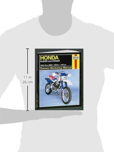 Haynes Honda Xl600/Xr600: 1983 Thru 2000 (Haynes Owners Workshop Manuals)