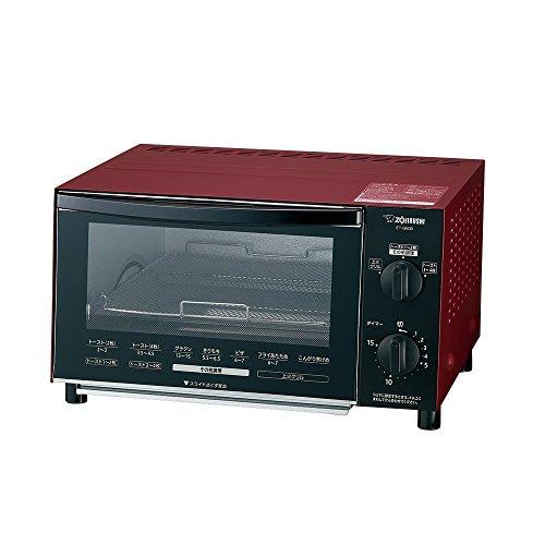 象印 オーブントースター 温度調節機能付き マットレッド ET-GB30-RZ
