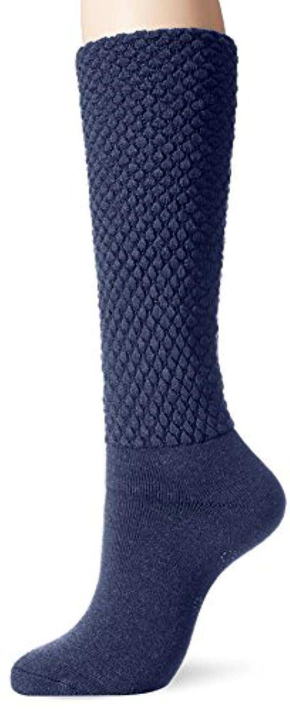 [Mizuno] ライフスタイルウェア ブレスサーモ ゆるぬく ゴム無しロング靴下 C2JX7803 レディース