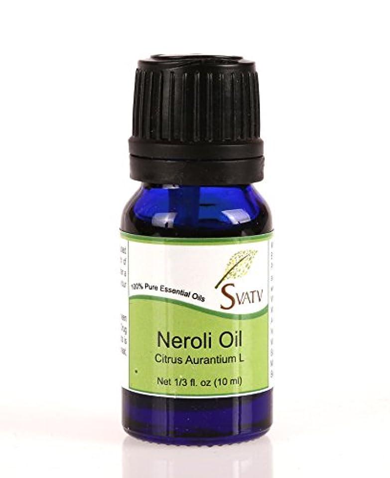 メロン有効な汚れるSVATVネロリ(Citrus Aurantium L)エッセンシャルオイル10mL(1/3オンス)100%純粋で無希釈、治療グレード