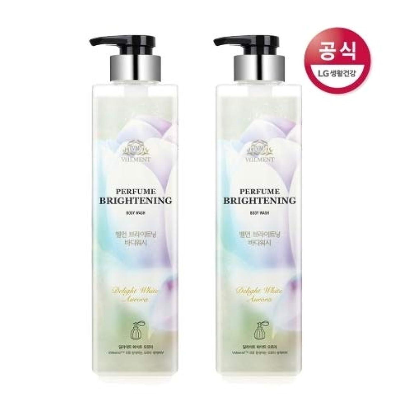 電気現実的返還[LG HnB] On the Body Belman Perfume Brightening Body Wash / オンザボディベルモンパフュームブライトニングボディウォッシュ680mlx2個(海外直送品)