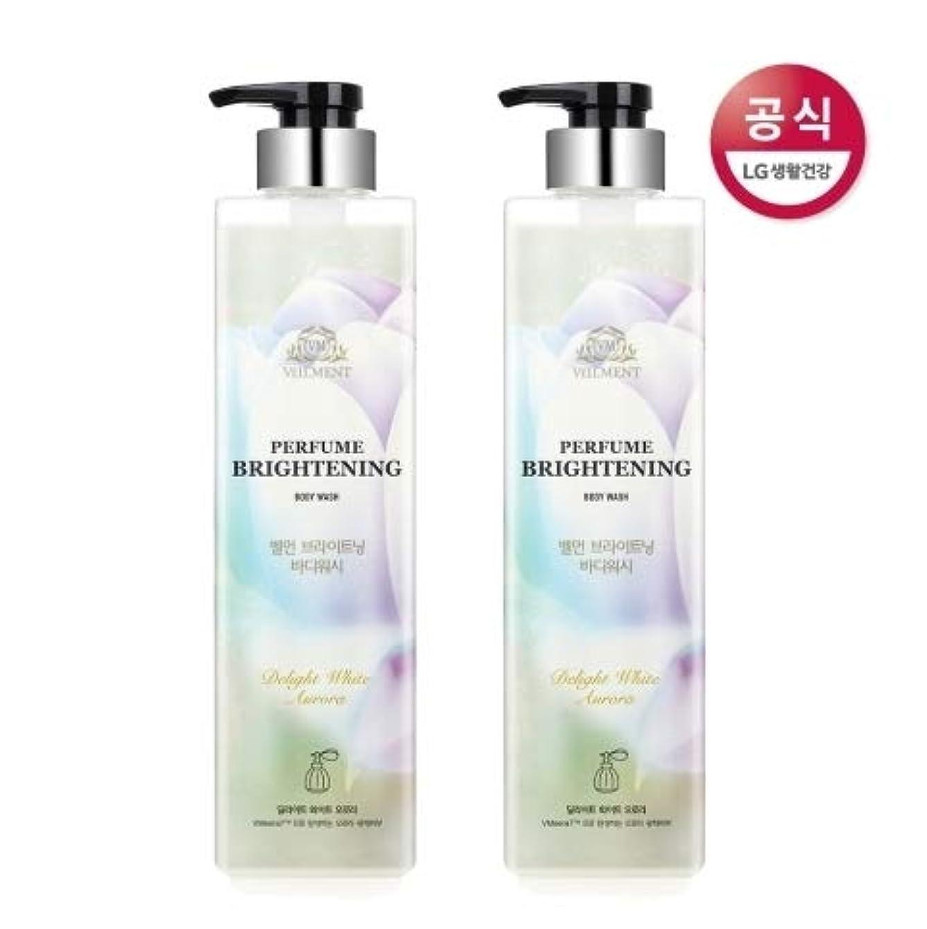 ワイド荒廃するあさり[LG HnB] On the Body Belman Perfume Brightening Body Wash / オンザボディベルモンパフュームブライトニングボディウォッシュ680mlx2個(海外直送品)