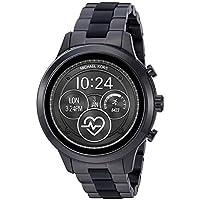 Michael Kors Women's Quartz Michael Kors Smartwatch smart Display and Stainless Steel Strap, MKT5058, Black/multicolour