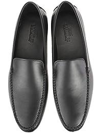 [ルシウス] LUCIUS ビジネスシューズ メンズ 革靴 スリッポン ローファー Uチップ モカシン 本革 レザー ドレスシューズ 紳士靴 【908-28-CPZ】