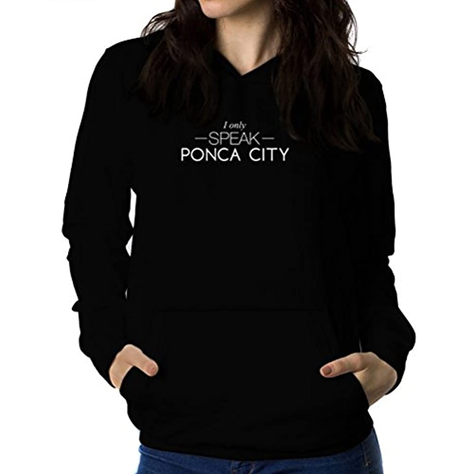 作曲家従者クックI only speak Ponca City 女性 フーディー