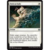 英語版 Explorers of Ixalan E02 流刑への道 Path to Exile マジック・ザ・ギャザリング mtg