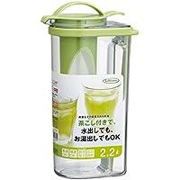 岩崎 冷水筒 フェローズ タテヨコ・茶こし付ハンドルピッチャー 2.2L ネクスト K-1297MC