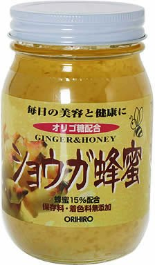 ショウガ蜂蜜580g ORIHIRO(オリヒロ) オリヒロ X584510H