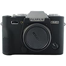 ANYI DIANZI Silicone Cover for FUJI X-T10 Fujifilm XT20 XT10 (black)