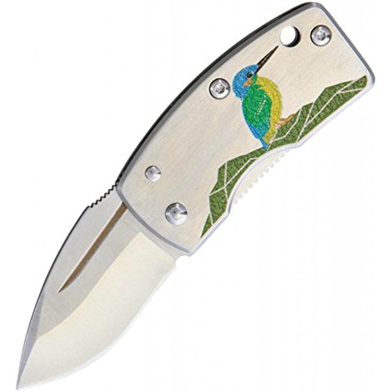 せがむ役に立つ散歩ジー?サカイ(G?SAKAI) ナイフ 折りたたみナイフ (マネークリップ付き) かわせみ 11167