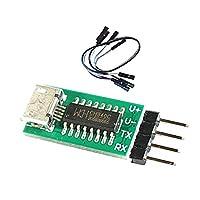 KESOTO シリアルポート ダウンロードモジュール CH340 USB →RS232 TTL ブースローダー付き