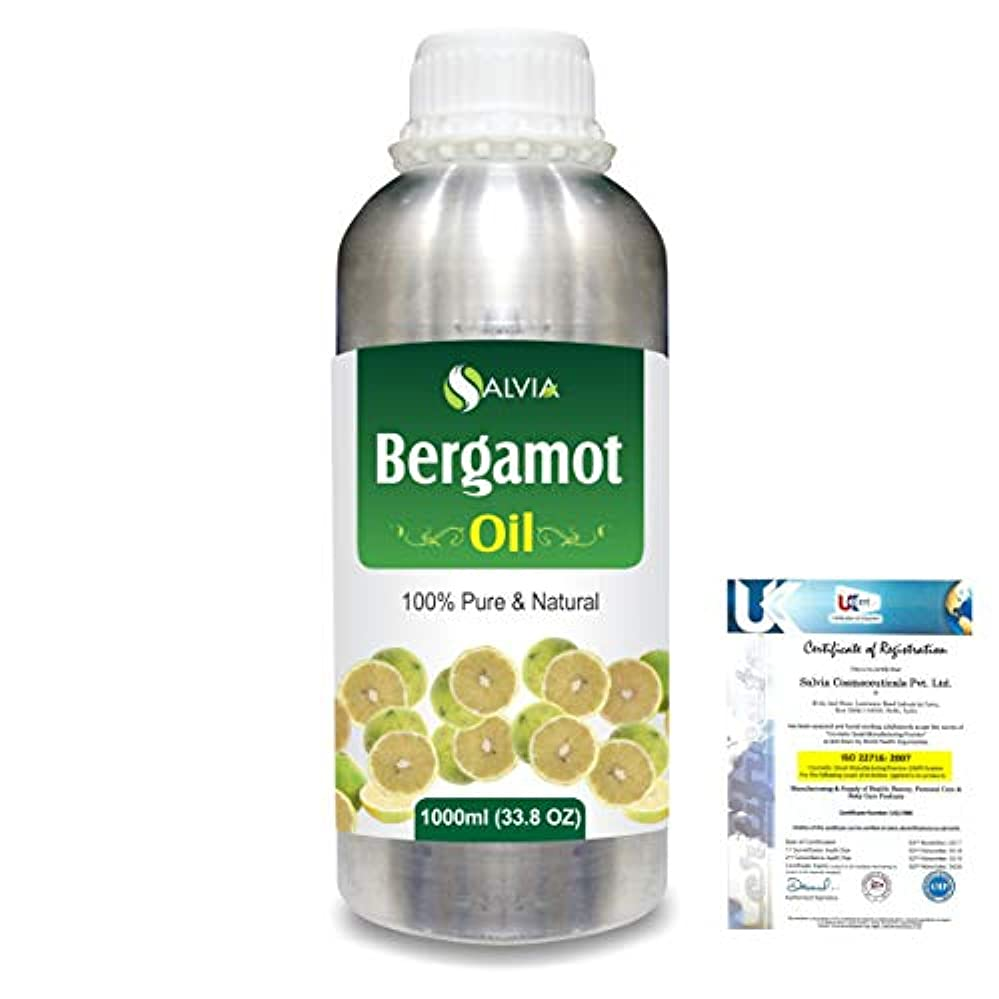 最愛の最初ウサギBergamot (Citrus aurantium) 100% Natural Pure Essential Oil 1000ml/33.8fl.oz.