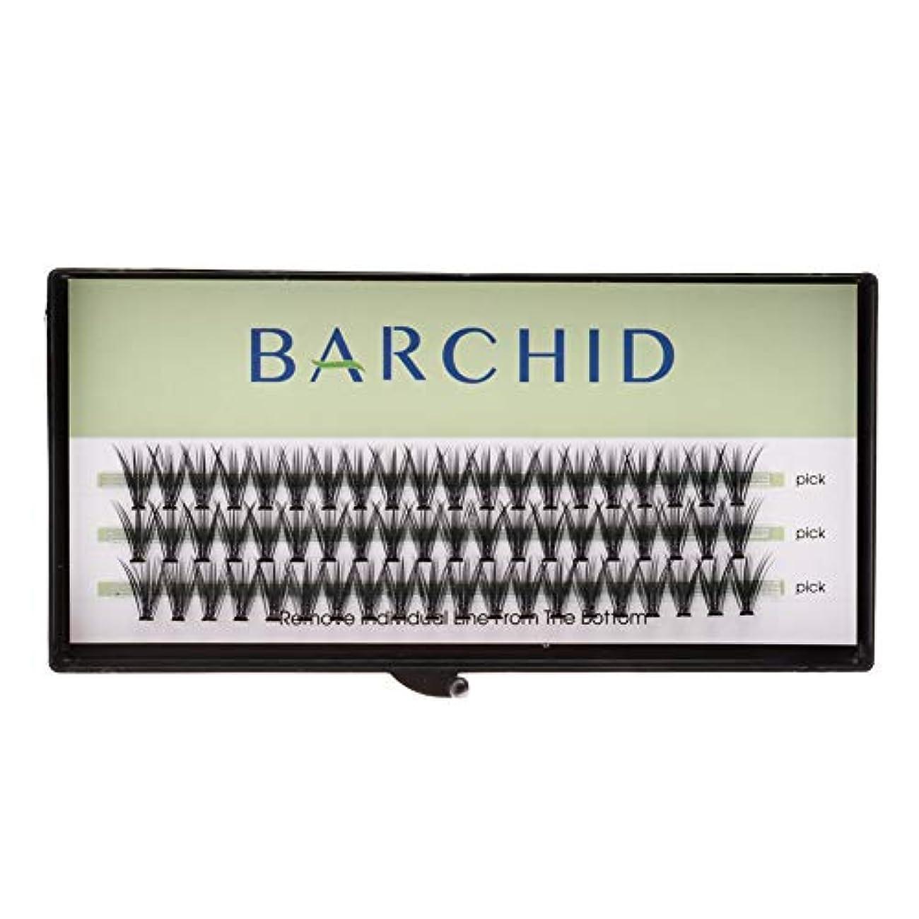 ハード世論調査可動式BARCHID 高品質超極細まつげエクステ太さ0.07mm 20本束10mm Cカール フレア セルフ用 素材 マツエク