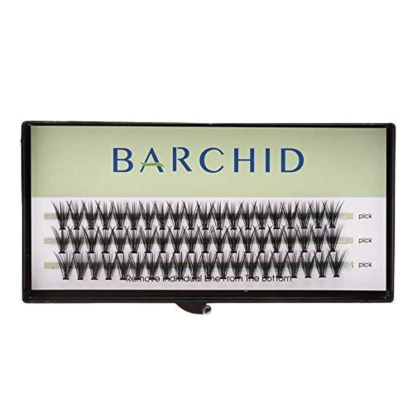 熱心浮く混合したBARCHID 高品質超極細まつげエクステ太さ0.07mm 20本束10mm Cカール フレア セルフ用 素材 マツエク