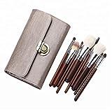 AKI 旅するブラシ 化粧筆 メイクアップブラシ 10本入り 化粧ブラシセット