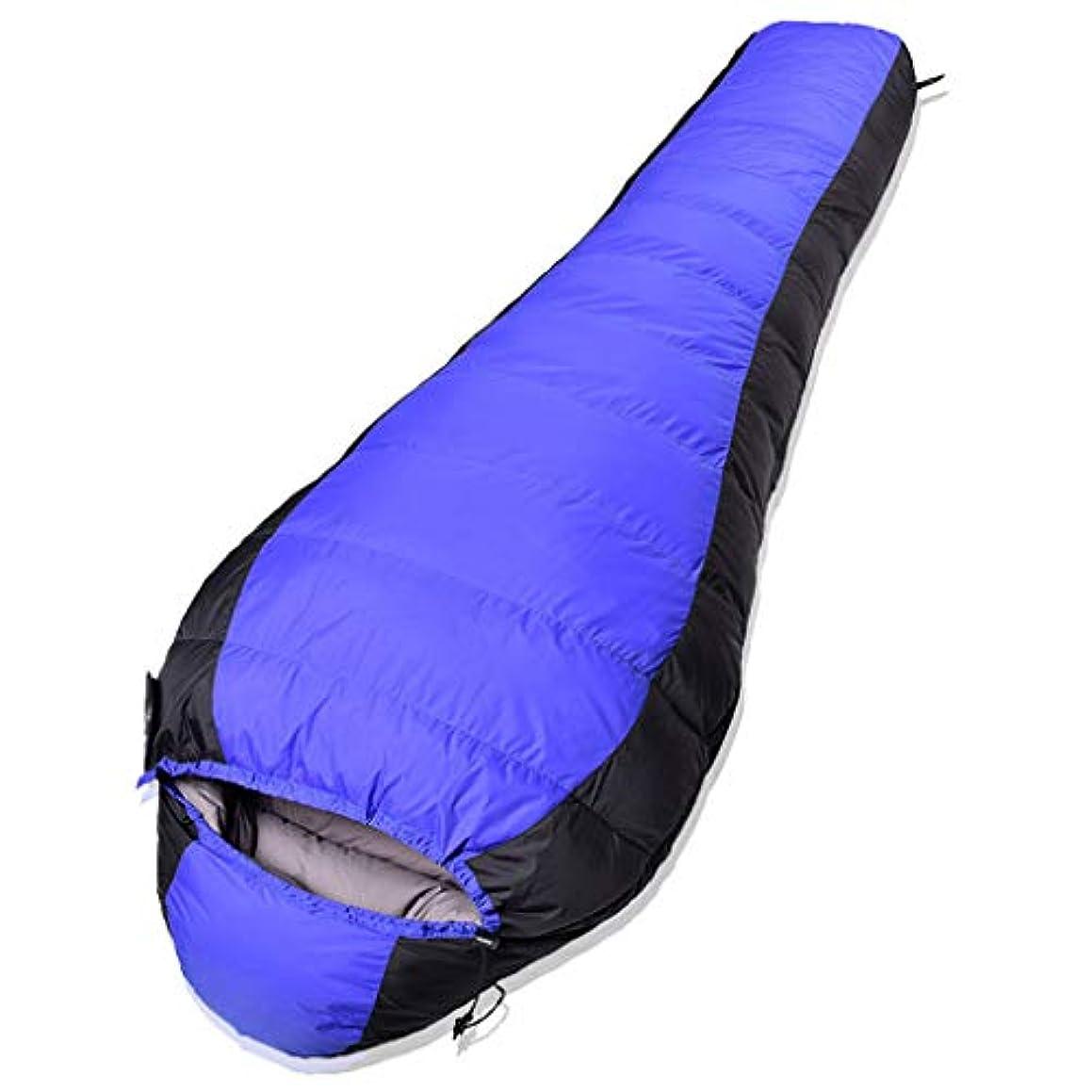 ギネス頼る本部グースダウン寝袋厚い冬のミイラ寝袋