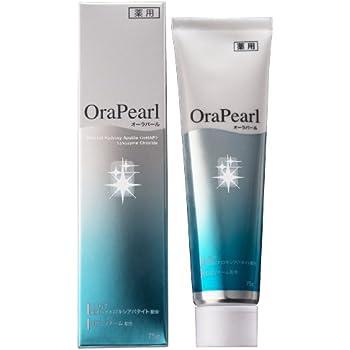 薬用ハミガキ オーラパール 医薬部外品 ホワイトニング 歯周病予防 口臭予防