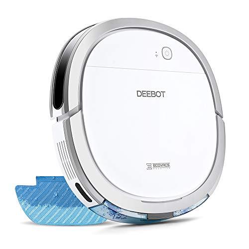 【細菌除去率99%】エコバックス ECOVACS DEEBOT OZMO Slim11 床拭きロボット掃除機 フローリング掃除 畳掃除 超薄型 水拭き対応 モップ付け 自動拭き掃除 Alexa対応 スマホ連動