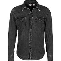 Levi's Men's Barstow Western Shirt, Grey