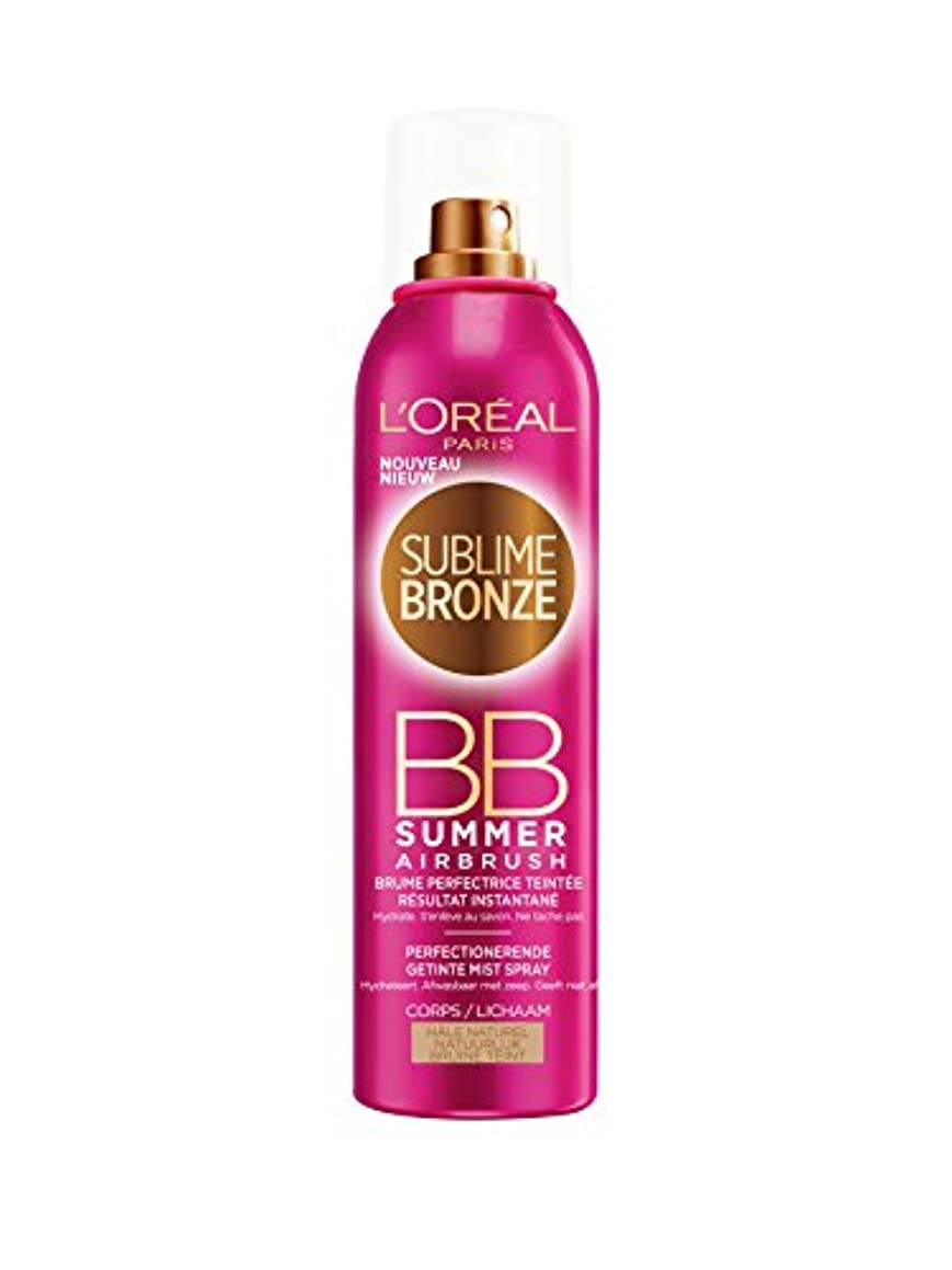 ところで最終ペーストL'OREAL - SUBLIME BRONZE- BB SUMMER - Hale Naturel - 150ml