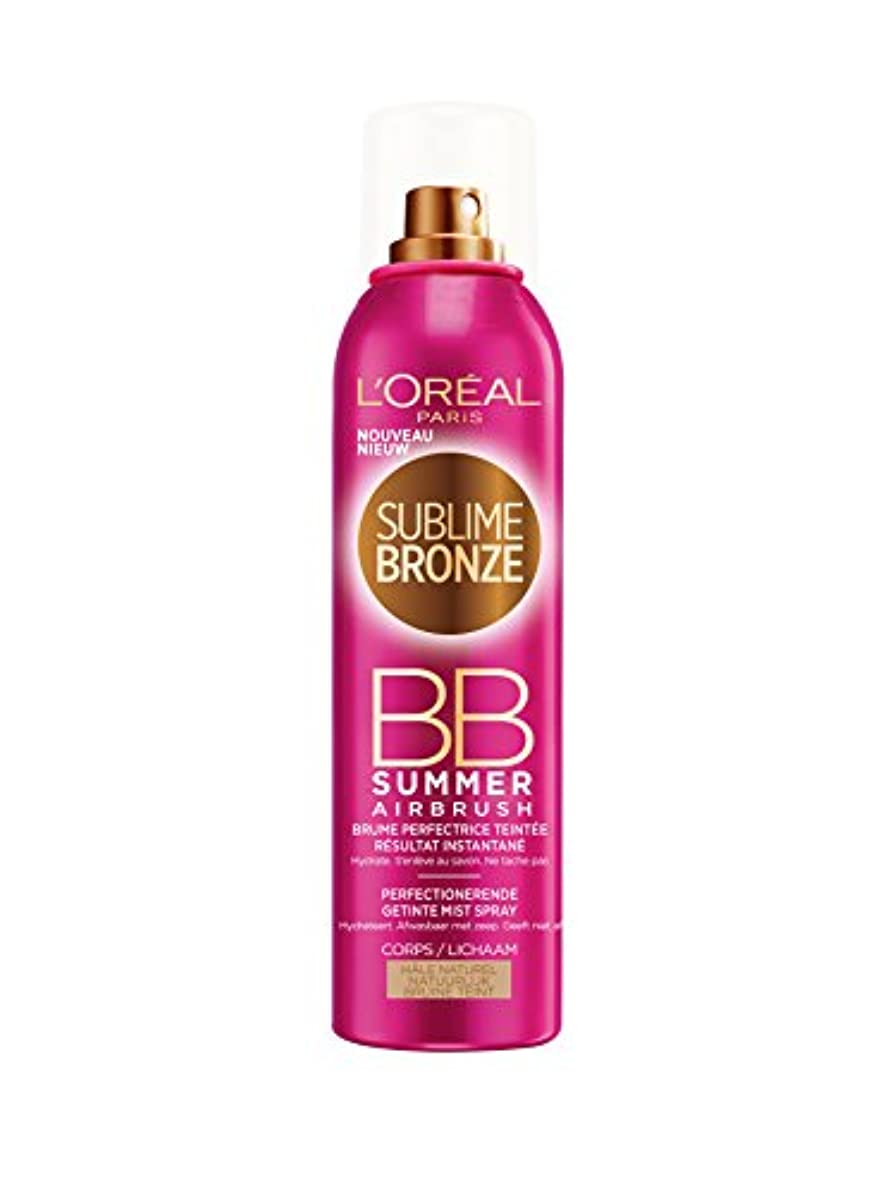 効率水星薄暗いL'OREAL - SUBLIME BRONZE- BB SUMMER - Hale Naturel - 150ml