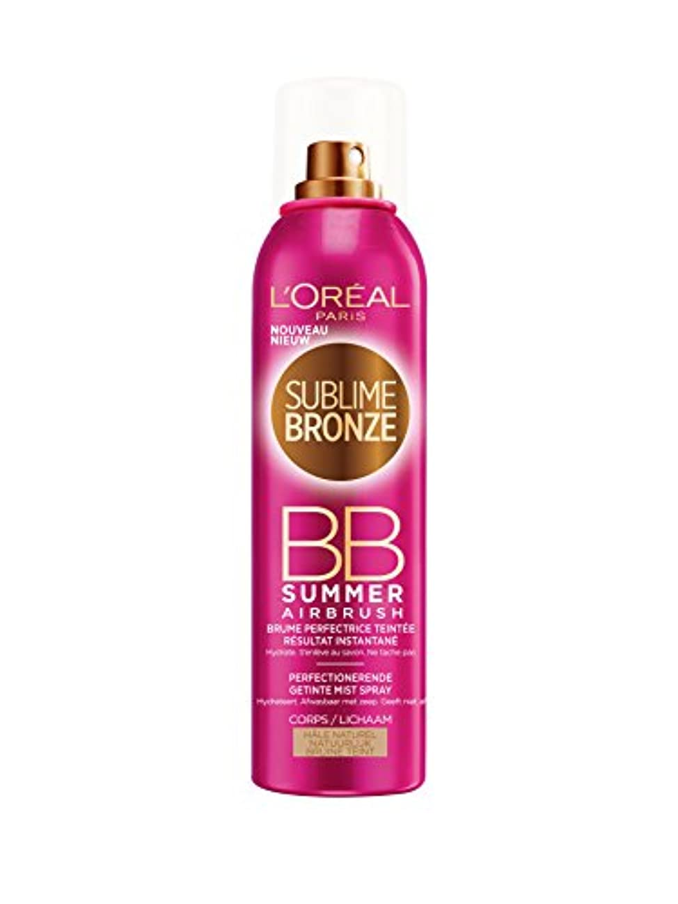 取得する複数瞑想L'OREAL - SUBLIME BRONZE- BB SUMMER - Hale Naturel - 150ml