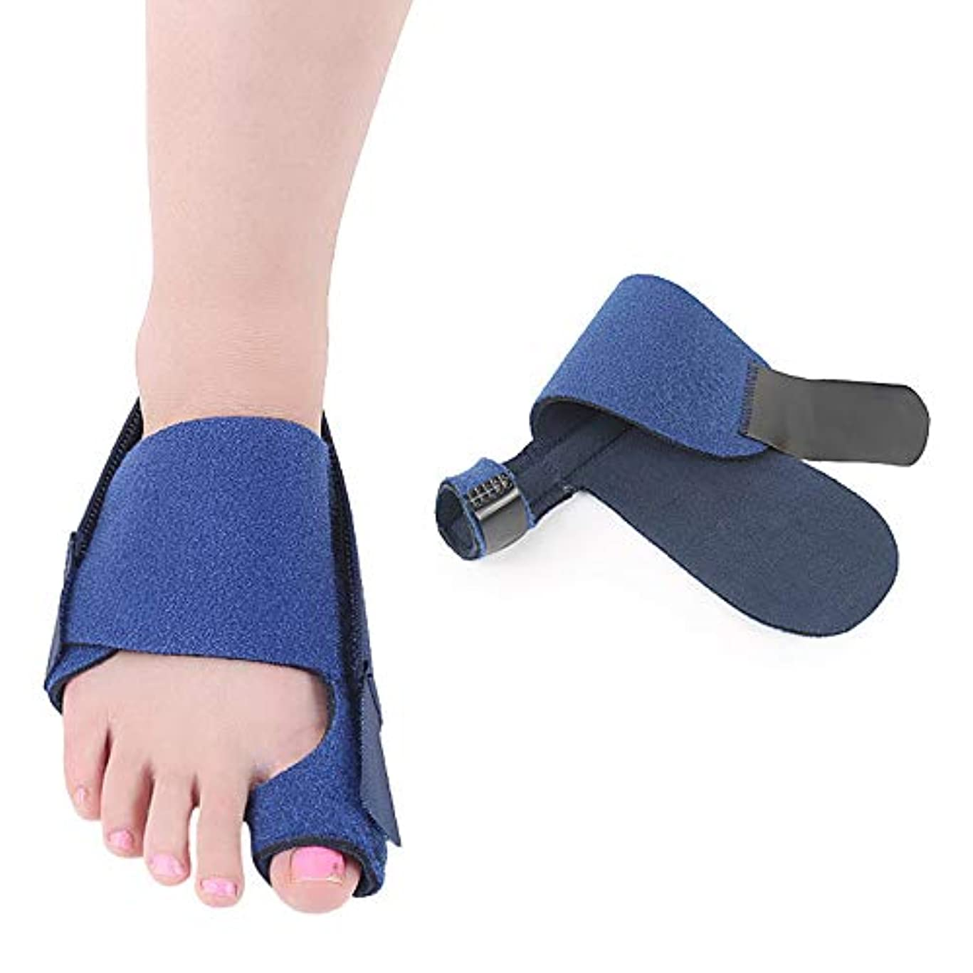 マネージャー合図スロット外反母趾足指セパレーターは足指重複嚢胞通気性吸収汗ワンサイズを防止し、ヨガ後の痛みと変形を軽減,RightFoot