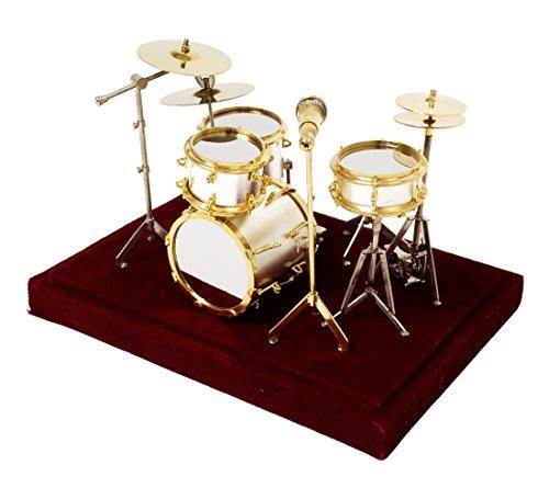 [해외]SUNRISE SOUND HOUSE 선 라이즈 사운드 하우스 미니어처 악기 드럼 세트/SUNRISE SOUND HOUSE Sunrise Soundhouse Miniature Musical Instrument Drum Set