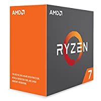 AMD CPU Ryzen7 1700 with WraithSpire 95W cooler AM4 YD1700BBAEBOX