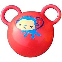 KEANER 新生児 乳児 ロールポリ おもちゃ キッズ ハンドラトル ベビー ファニーベル ボール おもちゃ ギフト (レッド)