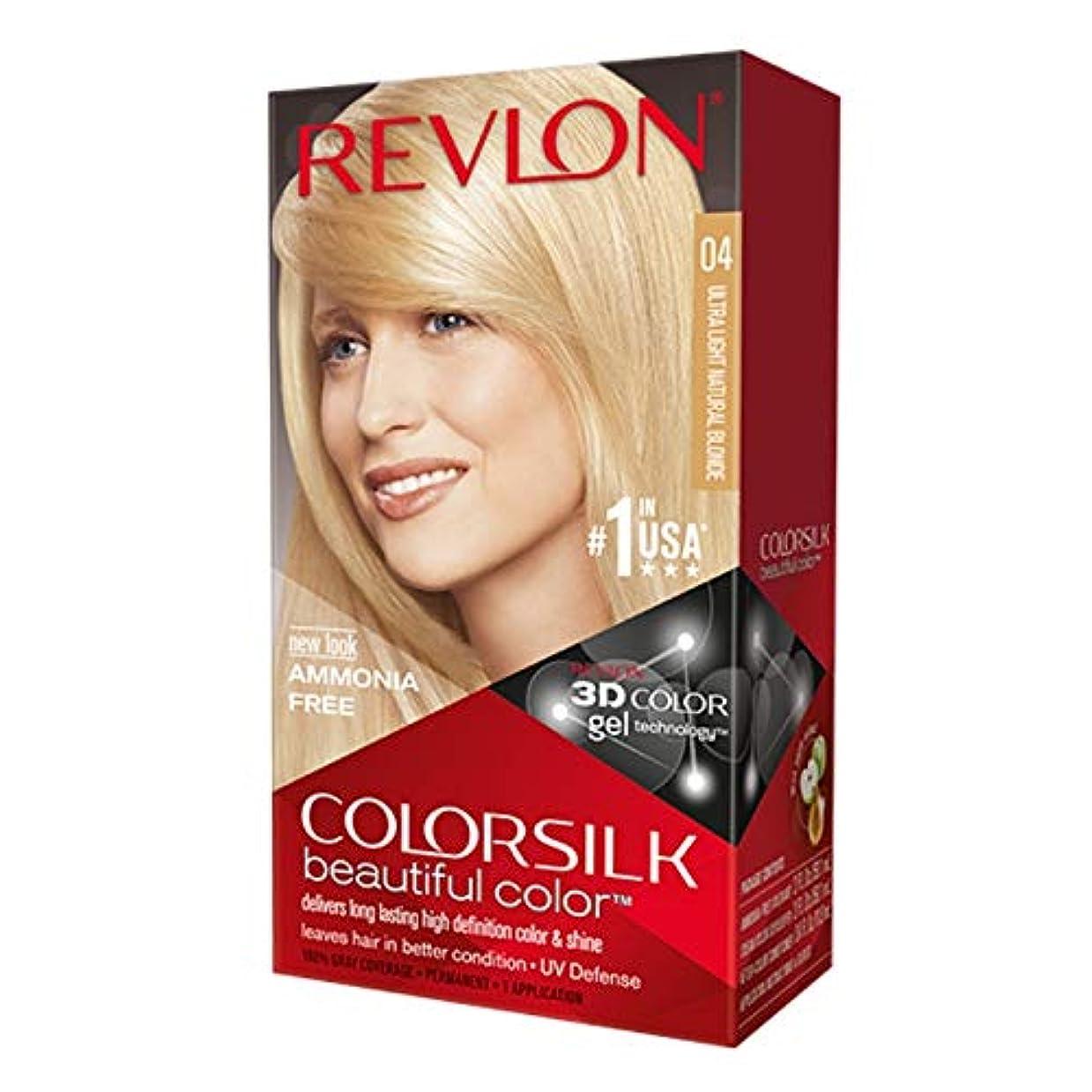 説明するデザイナー豊富なRevlon Colorsilkの#04 ULT-LTナットBLND