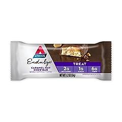 海外直送品 Atkins Endulge Bar Caramel Nut Chew, Caramel nut chew 5 Pack