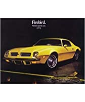 1974年ポンティアックFirebird Sales Folder Literature Piece
