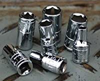 ATD Tools ATD-12004 0.25 In. Drive 6-Point Standard Metric Socket - 4 mm