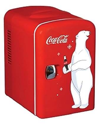 コカコーラデザインミニ冷蔵庫 KWC-4 Coca-Cola Personal 6-Can【新デザイン】 輸入品