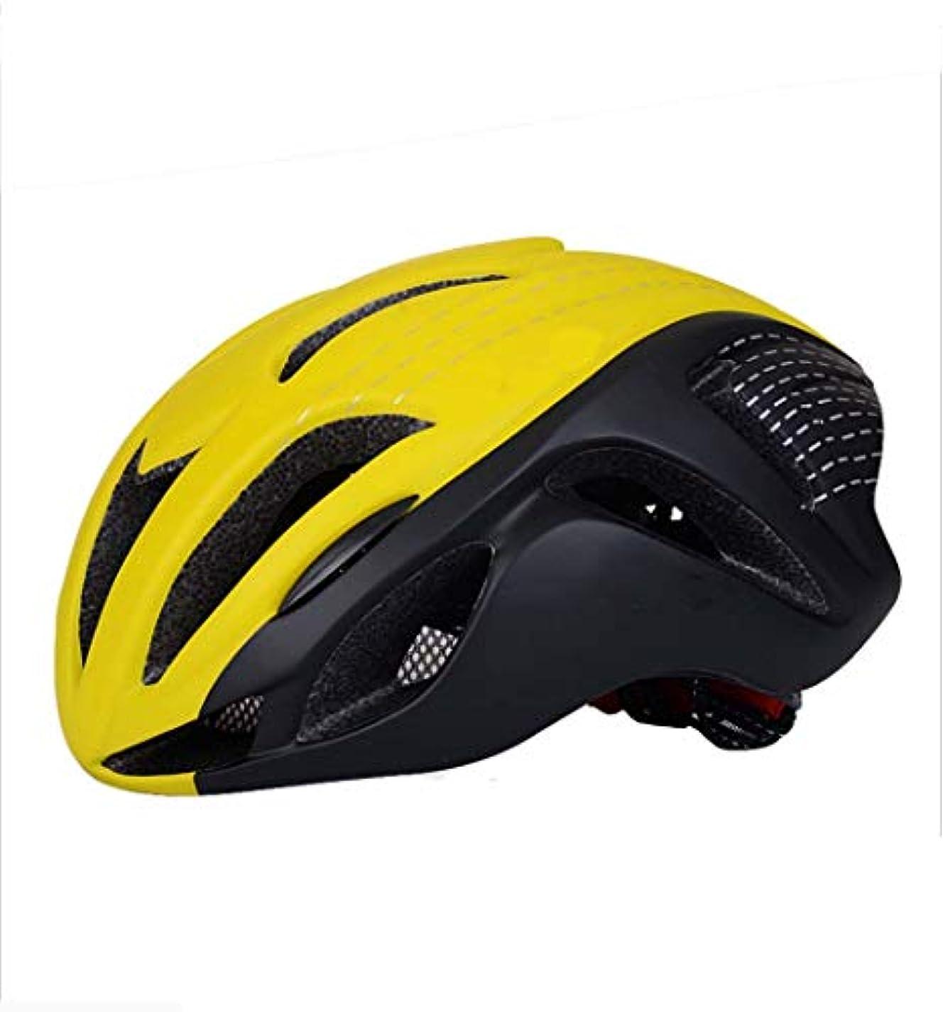 熱望する大気海峡ひも自転車ヘルメット, 軽量ライディングヘルメット PC 屋外サイクリングヘルメット調整しやすいユニセックス大人スポーツヘルメット