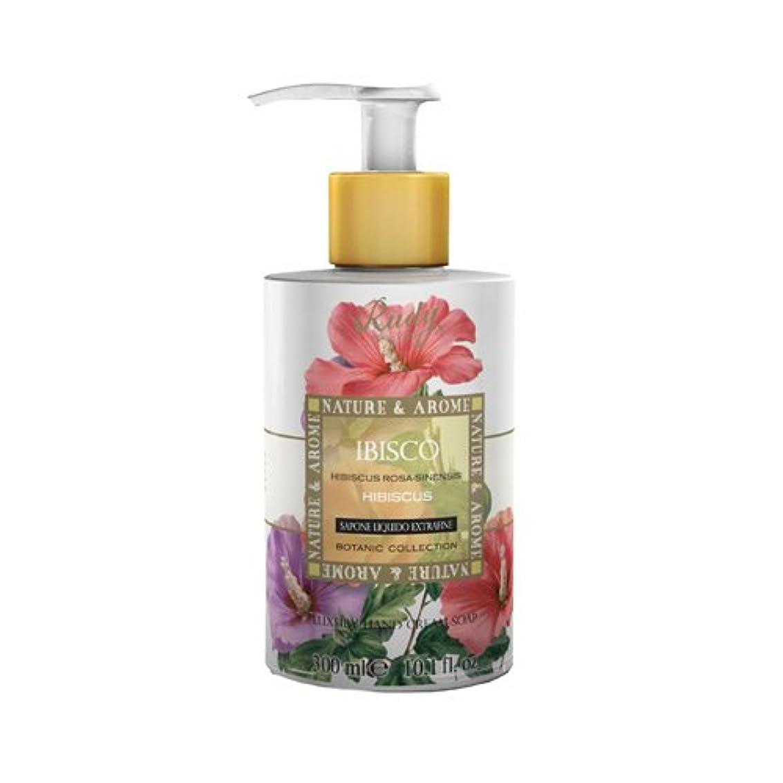 起きて勧める締め切りRUDY Nature&Arome SERIES ルディ ナチュール&アロマ Liquid Soap リキッドソープ ハイビスカス
