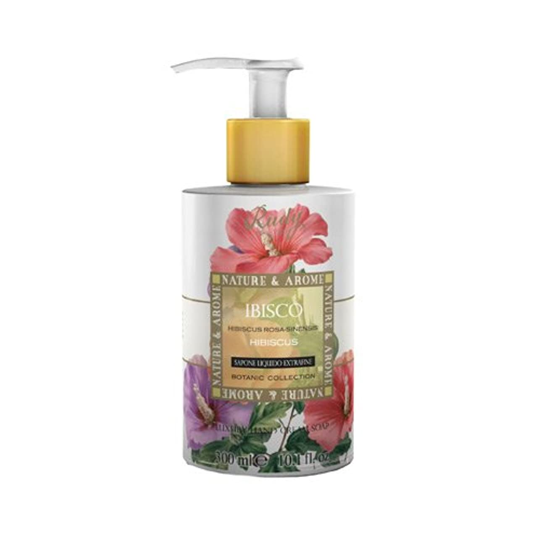 フルート書き込みどう?RUDY Nature&Arome SERIES ルディ ナチュール&アロマ Liquid Soap リキッドソープ ハイビスカス