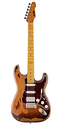 ESP LTD GL-256 George Lynch シグネチャー Distressed 2-tone Burst エレキギター エレクトリックギター (並行輸入)