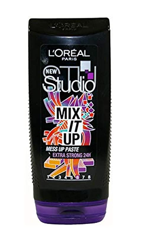 自分自身わずかな結婚Loreal StudioLine Style Addicts Mix it Up extra strong gel 200ml